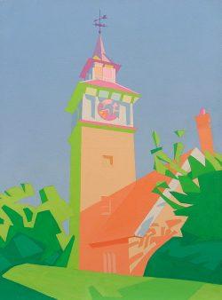 Laton Street Clock Tower